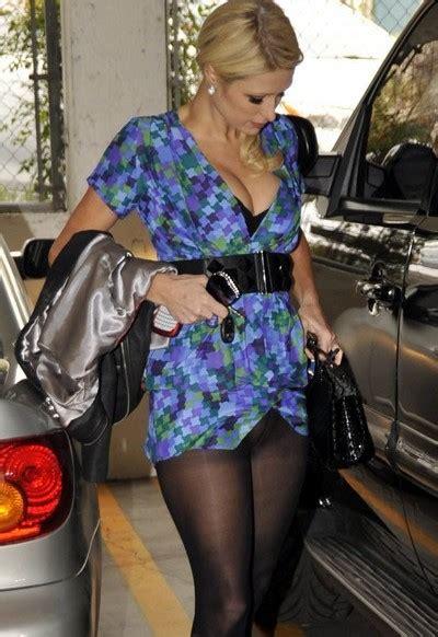 Paris Hilton Blue Dress Upskirt Pictures Beautiful Girl