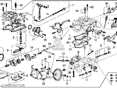 1989 Honda Accord Engine Diagram by Honda Accord 1986 4dr Dx Ka Parts List Partsmanual