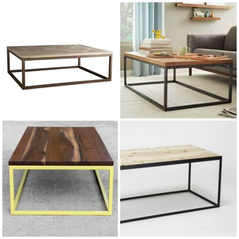 how to make a coffee table higher remodelaholic how to build a modern industrial wood and