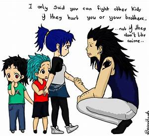Gajeel and Levy's kids | Awesome Anime Pics | Pinterest ...