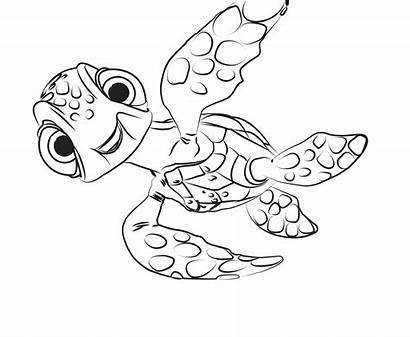 Coloring Pages Finding Dory Printable Cartoon Coloringtop