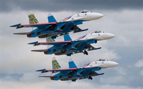 wallpaper sukhoi su  fighter aircraft russian air
