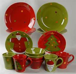 Vietri Italy Pallini Holiday 16 Piece Dinnerware Set Replacements Cool Holiday Dinnerware Trends