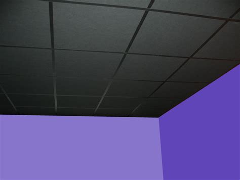 10sqm suspended ceiling tiles black grid
