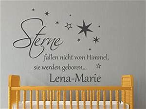 Motive Für Babyzimmer : babyzimmer wandtattoos s e motive mit babynamen ~ Michelbontemps.com Haus und Dekorationen