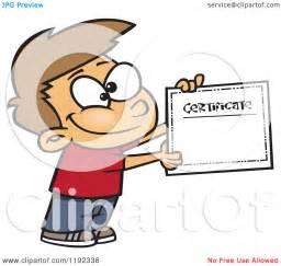 Cartoon Certificate