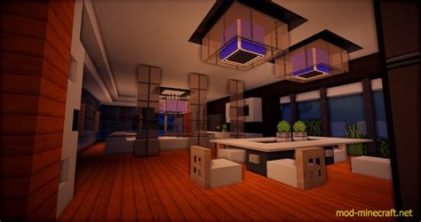 beautiful modern house map mod minecraftnet