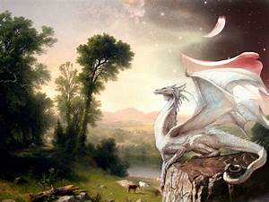 3 White Dragon HD Wallpapers | Background Images ...