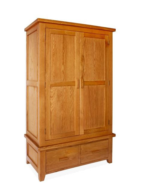 2 Door Wardrobe by Canterbury 2 Door 2 Drawer Wardrobe
