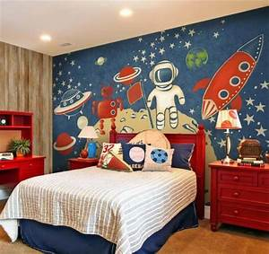 18, Space, Themed, Rooms, For, Kids