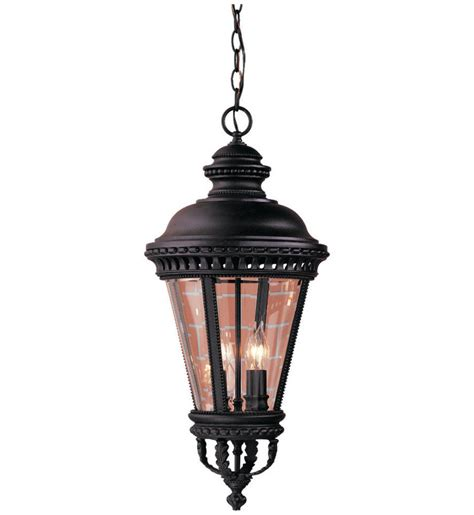 lantern pendant light black feiss ol1911bk castle black 4 light outdoor pendant