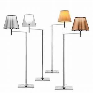 flos ktribe f1 floor light transparent dimmable panik With flos k floor lamp