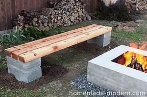 Banc Exterieur Design : un banc pour votre jardin la fabrique diy ~ Teatrodelosmanantiales.com Idées de Décoration