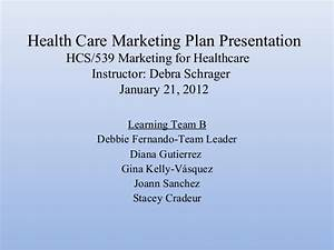 health care marketing plan presentation With healthcare marketing plan template