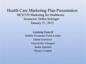 health care marketing plan presentation With hospital marketing plan template