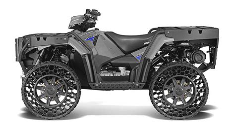 Polaris Airless Tires by The Airless Tyre Vehicle You Can Own Is A Atv