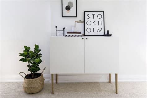 Ikea Besta Sideboard by Ikea Besta Hack Scandinavian Sideboard Cabinet Happy