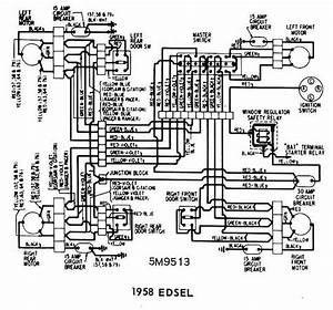 1959 Edsel Power Window Wiring Diagram