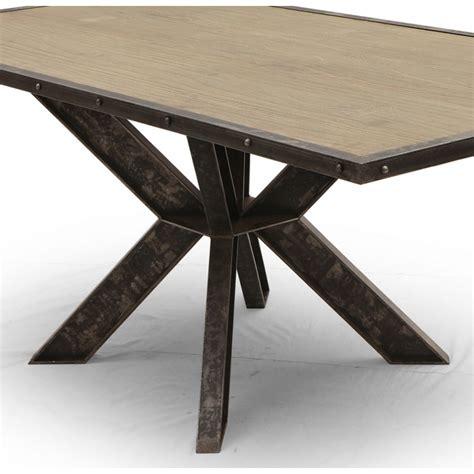 canapé d angle convertible table salle à manger industriel york pied central ipn