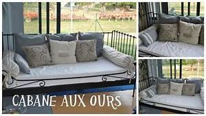 Grand Coussin Pour Canapé : coussins pour canap lit la cabane aux ours ~ Teatrodelosmanantiales.com Idées de Décoration
