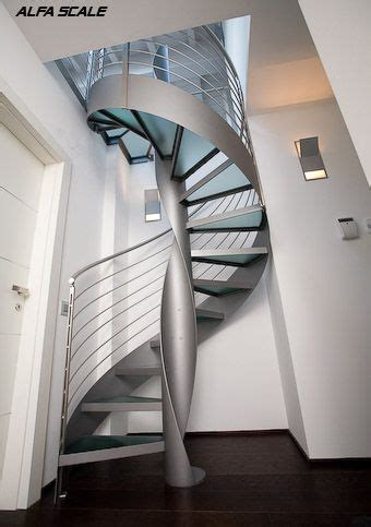 section painted steel spiral staircase  images