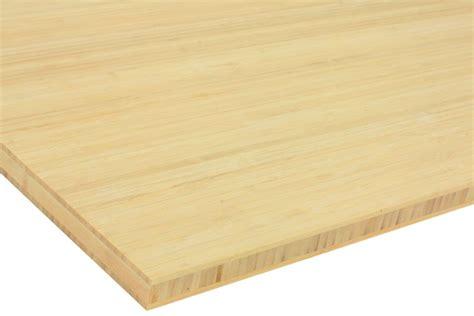 bureau bambou plateau bambou naturel prémium la boutique du bois