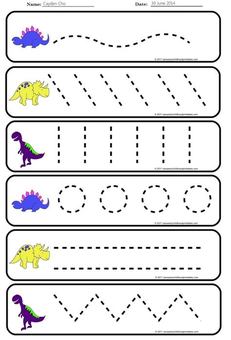 pre writing strokes worksheets the best worksheets image 152 | pre writing strokes worksheets 2