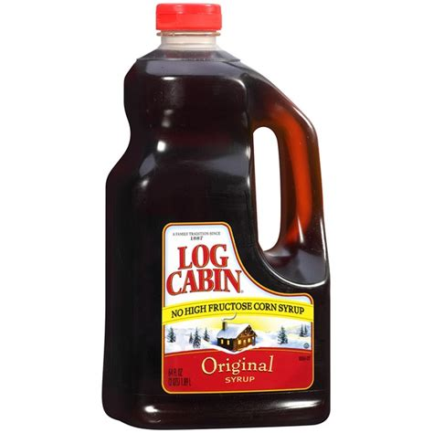 log cabin syrup log cabin original syrup from costco instacart