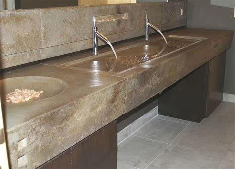 38 best images about bathroom concrete sinks countertops