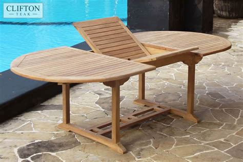 sussex  seater extending teak dining set casa bella
