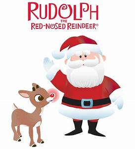 Rudolph The Red Nosed Reindeer Clipart – 101 Clip Art