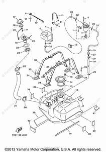 Yamaha Waverunner 2013 Oem Parts Diagram For Fuel Tank