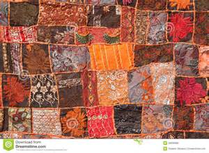 Carpet Handmade by Indian Patchwork Carpet Stock Photo Image 29038480