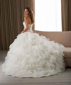 puffy wedding dresses ideas wedding and bridal With wedding dresses not puffy