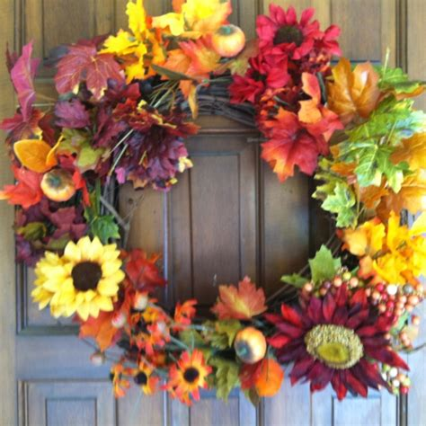 autumn wreath ideas autumn fall wreath ideas pinterest
