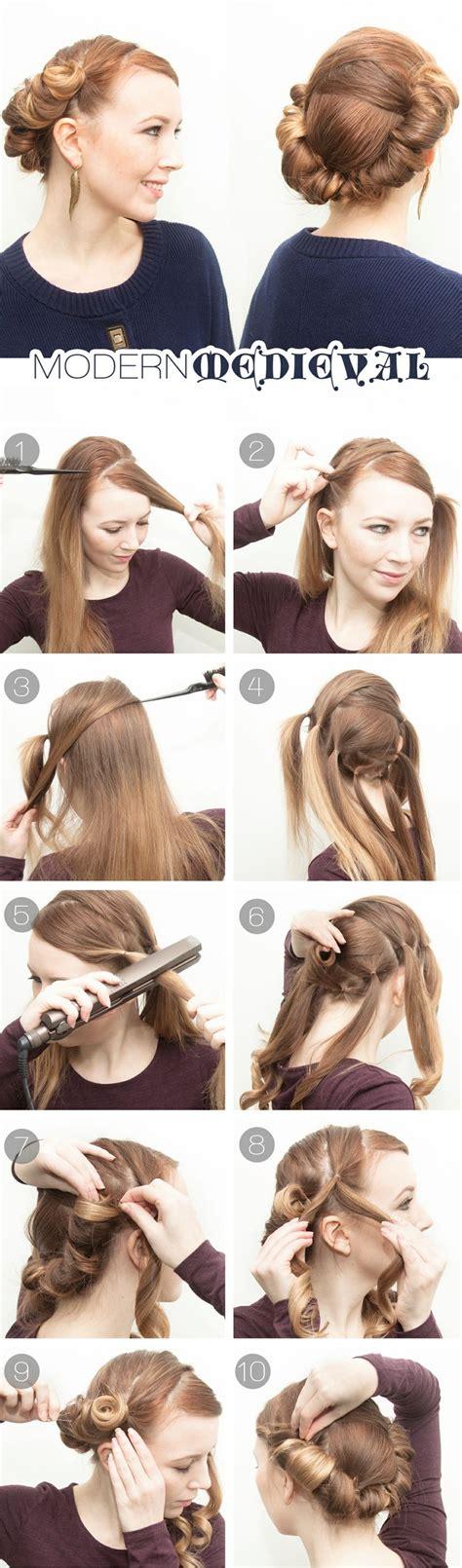genius hairstyles      flat iron