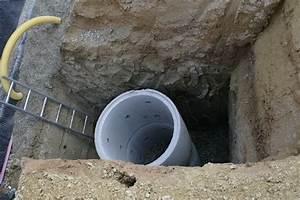 Bauen Auf Lehmboden : sickerschacht f r drainage drainage mit vlies verlegen wann ist das ratsam sickerschacht ~ Markanthonyermac.com Haus und Dekorationen