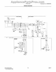 Parts For Frigidaire Fftr1814tw0  Wiring Diagram Parts