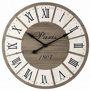 Horloge Murale Maison Du Monde : st germain horloge murale maisons du monde decofinder ~ Teatrodelosmanantiales.com Idées de Décoration