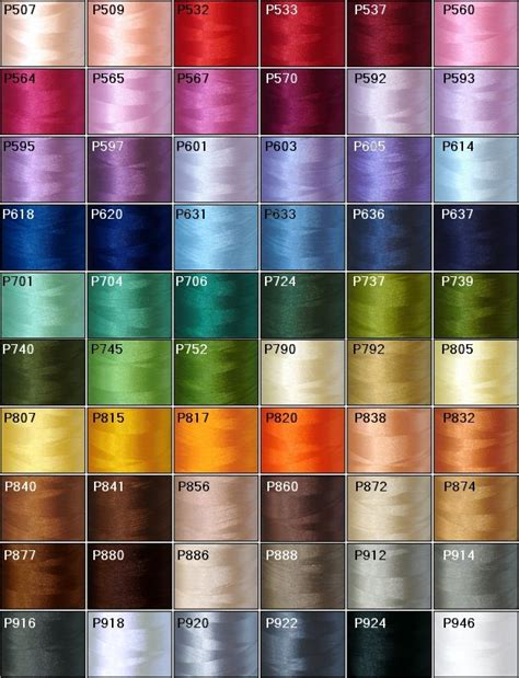 embroidery thread colors threadelight commercial size polyester embroidery thread