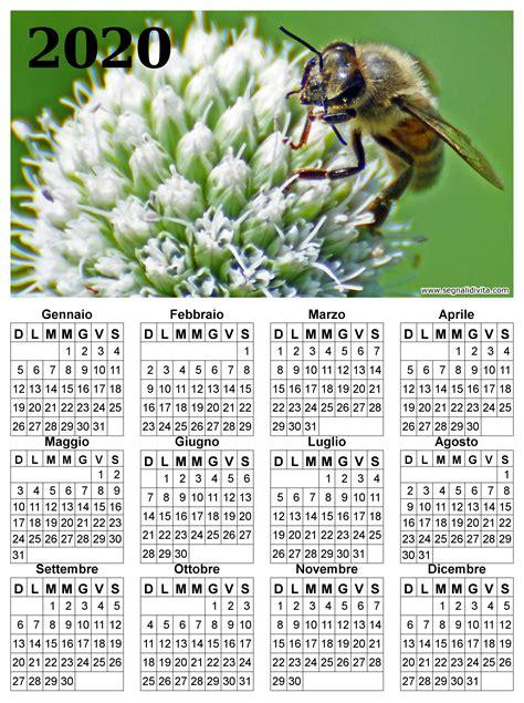 calendari da scaricare foto del