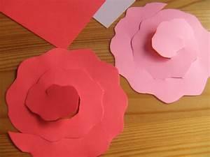 Blumen Aus Papier : centi bastelt rosen aus papier ~ Udekor.club Haus und Dekorationen