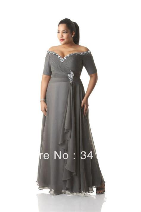fashion  size mother   bride dresses chiffon