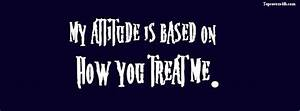 My Attitude Quote cover photo for facebook profile page ...