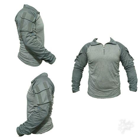 jual combat shirt abu baju kaos tactical bdu di