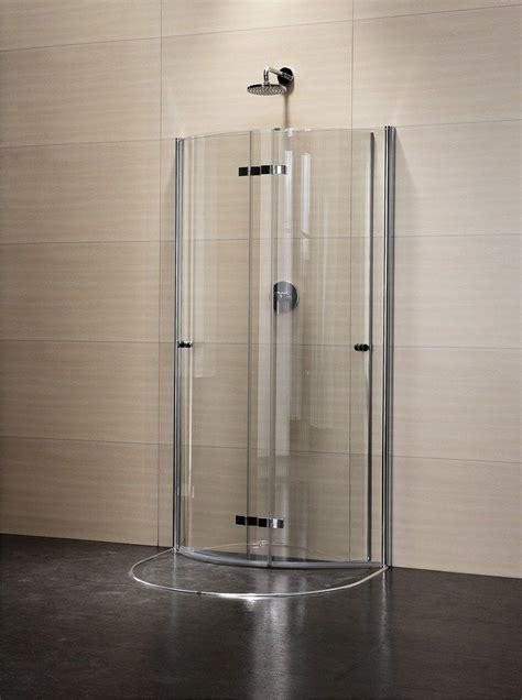 duka docce box doccia semicircolare in cristallo con porte scorrevoli