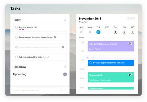 calendar app  desktop anydo