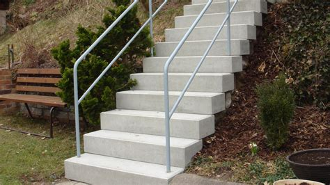 blockstufen beton anthrazit preise blockstufentreppe aus beton betonwerkstein waschbeton sandstein wagner treppenbau mainleus