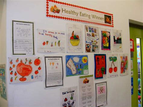 Lots of different things affect how healthy we are including what we eat and how active we are. Healthy Eating Poster Winners - Carrick Primary School