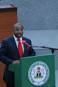 Address By His Excellency  Mr  Udom Emmanuel  Governor